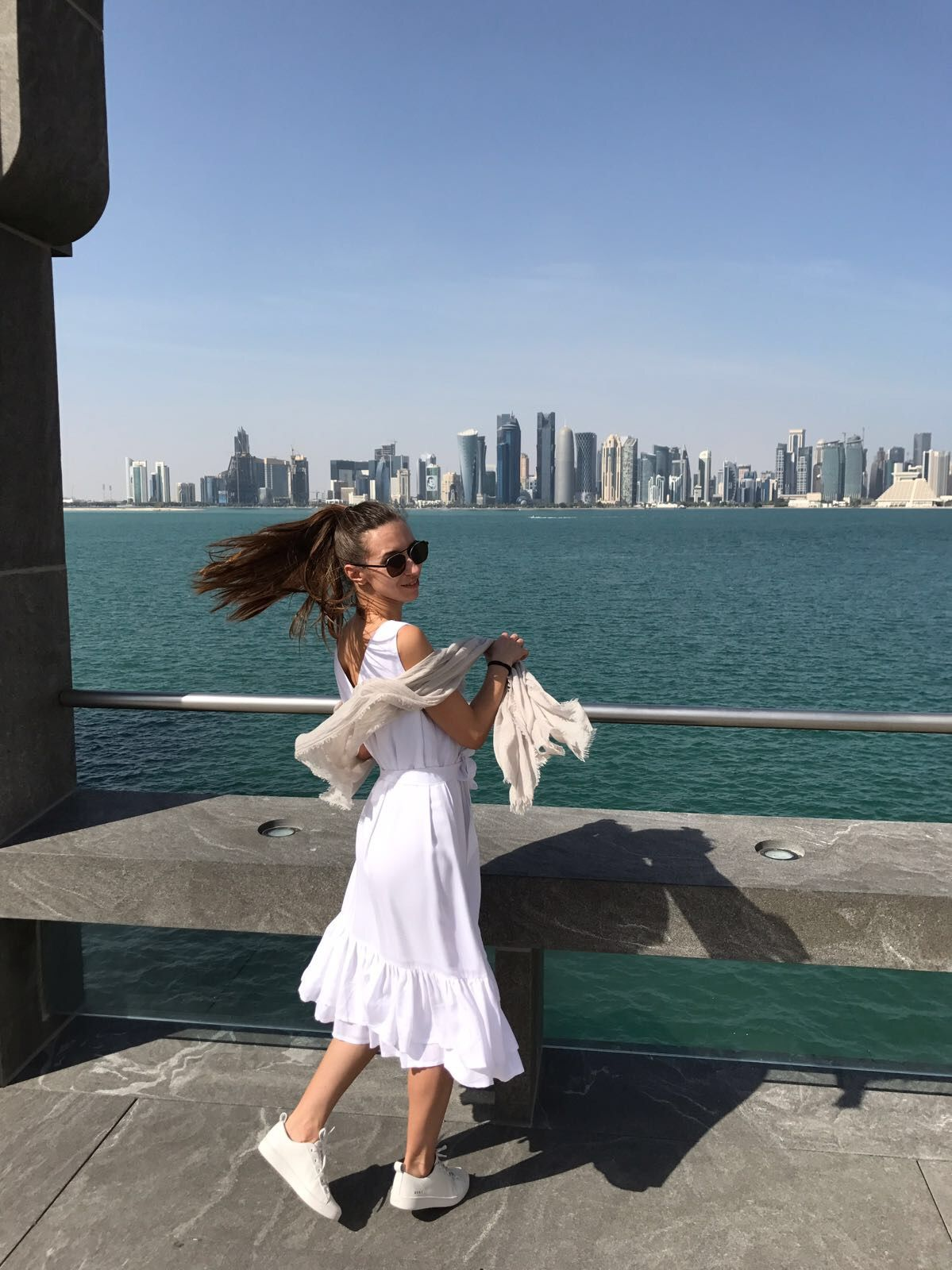 Наши в Дохе (Катар)
